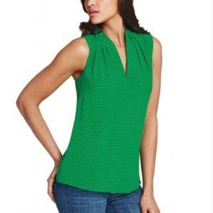 CAbi Sleveless Silk Blouse #124 Medium